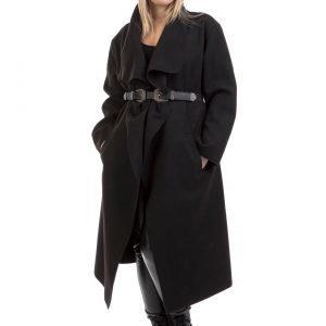 Παλτό μακρύ μαύρο